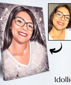 Portret Idollio prikazna slika