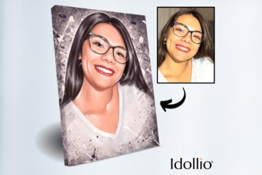 """Portret Idollio prikazna slika <h1 style=""""text-align: center;""""><strong>IDOLLIO PORTRET</strong></h1> <strong>Fotografije in vaša navodila za izdelavo portreta boste oddali v obrazec, ki se pojavi po oddanem naročilu.</strong> <ul> <li>Ročno delo</li> <li>Portret izdelan popolnoma po vaših zahtevah</li> <li>Hitra izdelava že v 2 - 7 delovnih dneh</li> <li>Popolno darilo za vsakogar</li> <li>Prerisujemo s fotografij ter na podlagi vaših navodil. Pošljite nam svoje ideje.</li> </ul> <strong>Najbolj unikatno darilo, ki ga lahko podarite svojim najbližjim. Čustven odziv bo neprecenljiv!</strong>"""