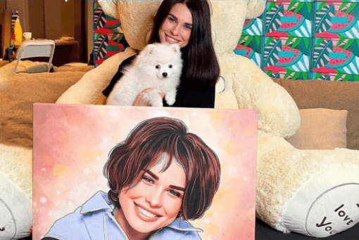 """Portret pes in medo <h1 style=""""text-align: center;""""><strong>IDOLLIO PORTRET</strong></h1> <strong>Fotografije in vaša navodila za izdelavo portreta boste oddali v obrazec, ki se pojavi po oddanem naročilu.</strong> <ul> <li>Ročno delo</li> <li>Portret izdelan popolnoma po vaših zahtevah</li> <li>Hitra izdelava že v 2 - 7 delovnih dneh</li> <li>Popolno darilo za vsakogar</li> <li>Prerisujemo s fotografij ter na podlagi vaših navodil. Pošljite nam svoje ideje.</li> </ul> <strong>Najbolj unikatno darilo, ki ga lahko podarite svojim najbližjim. Čustven odziv bo neprecenljiv!</strong>"""
