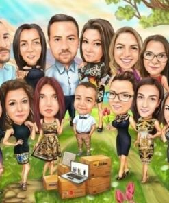 """Vecje skupine 2 <h1 style=""""text-align: center;""""><strong>[title text=""""PERSONALIZED PORTRAIT CARICATURE OF THE GROUP"""" style=""""center""""]</strong></h1> <strong>You will submit photos and your instructions for making a portrait in the form that appears after the order has been placed.</strong> <ul> <li>Handwork</li> <li>Portrait made exactly to your requirements</li> <li>Fast production in 2 - 7 working days</li> <li>The perfect gift for everyone</li> <li>We redraw from the photos and based on your instructions. Send us your ideas.</li> </ul> [message_box bg] <strong>The most unique gift you can give to your loved ones. An emotional response is guaranteed!</strong>[/message_box]"""