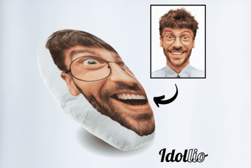 """Idollio pillow <h1 style=""""text-align: center;""""><strong> [title text=""""PERSONALIZED PILLOW"""" style=""""center""""]</strong></h1> <ul> <li>Handwork</li> <li>Create a 3D pillow with the image of your loved one, yourself or an animal.</li> <li>Keep your loved ones or pets with you at all time. Take them with you.</li> <li>The perfect gift for everyone</li> <li>2 sizes: 45 cm or 55 cm.</li> </ul> [message_box bg] <strong>The most unique gift you can give to your loved ones. The emotional response will be invaluable!</strong>[/message_box]"""