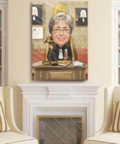"""Karikatura pravnik <h1 style=""""text-align: center;""""><strong>[title text=""""PERSONALIZED PORTRAIT CARICATURE"""" style=""""center""""]</strong></h1> <ul> <li>Handwork</li> <li>Caricature made completely according to your requirements</li> <li>Fast production in 2 - 7 working days</li> <li>The perfect gift for everyone</li> <li>Complete freedom in creating. Let the imagination have no limits.</li> <li>We draw from the photos and based on your instructions. Send us your ideas.</li> </ul> [message_box bg] <strong>The most unique gift you can give to your loved ones. The emotional response will be invaluable! </strong>[/message_box]"""