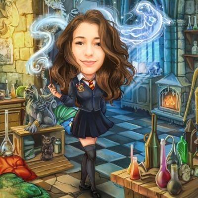 Harry Potter izdelki - portretna karikatura
