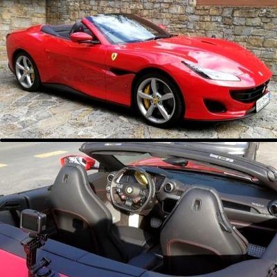 Darilo za 40 let - vožnja s Ferrari Portofino